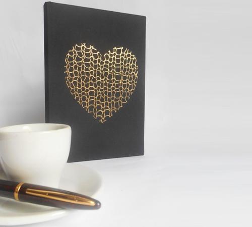 A5-Black-Gold-Knit-heart