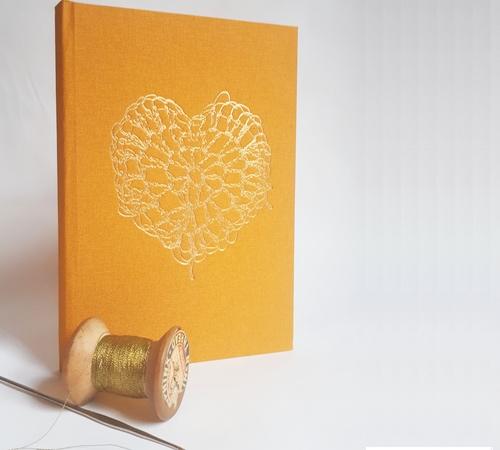 A5-Mustard-Gold-crochet-heart