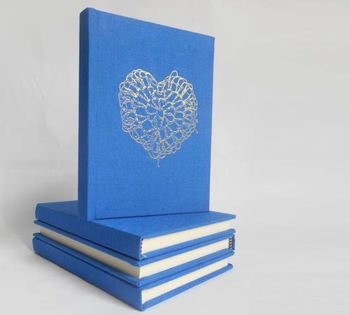 A6-Blue-Gold-crochet-heart